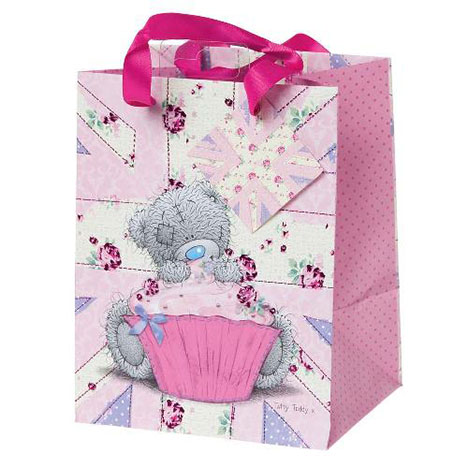 Tatty With Cupcake Small Me to You Bear Gift Bag  £1.75
