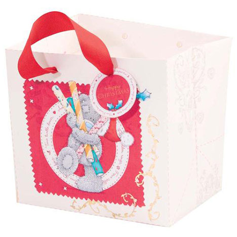Small Me to You Bear Christmas Gift Bag  £1.75