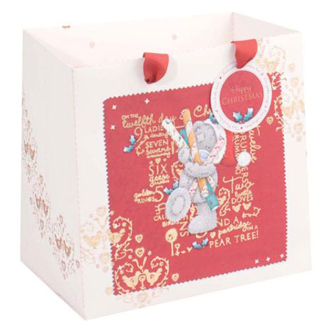 Medium Me to You Bear Christmas Gift Bag   £2.50