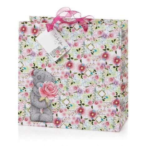 Large Me to You Bear Floral Gift Bag   £3.00