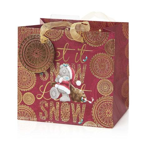Small Me to You Bear Let it Snow Christmas Gift Bag    £1.75