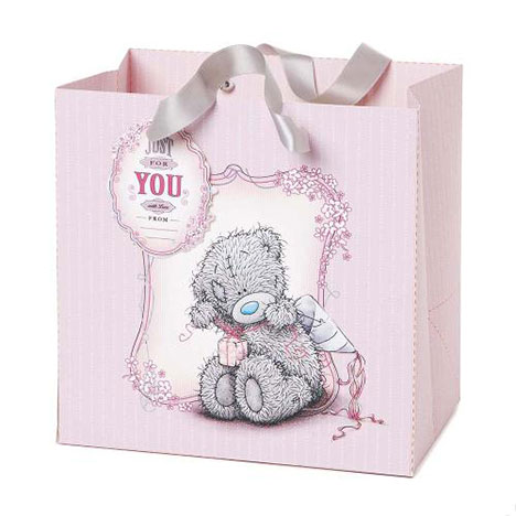 Medium Me to You Bear Pink Gift Bag   £2.50
