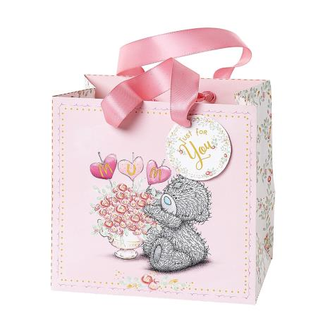 Small Mum Flowers Me to You Bear Gift Bag  £1.75
