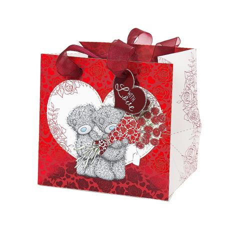Small With Love Me to You Bear Gift Bag  £1.75