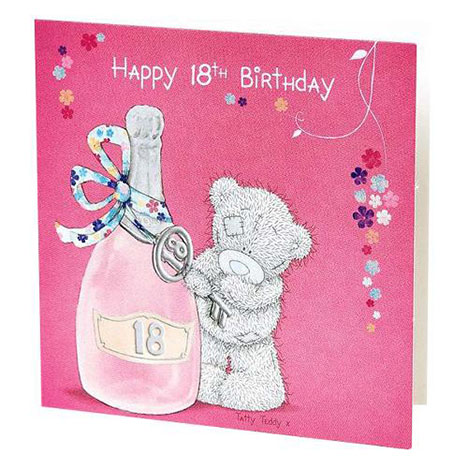 Happy 18th birthday me to you bear gift tag g01d0165 me to you