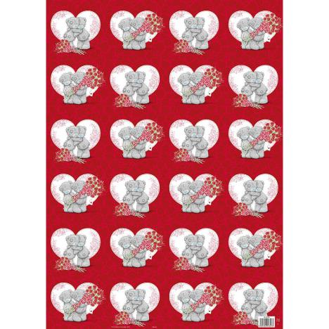 Love Heart Me to You Bear Gift Wrap  £1.00