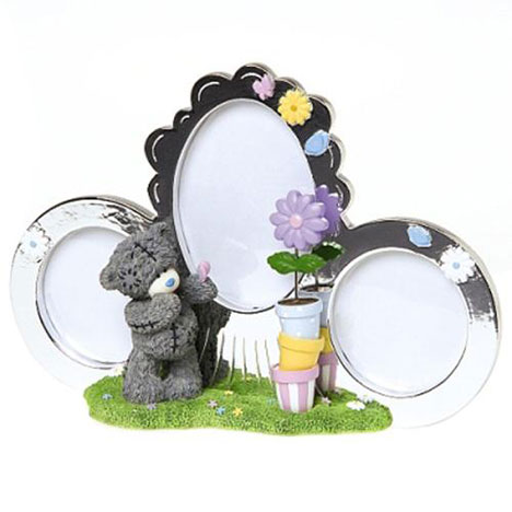 Me to You Bear Triple Photo Frame and Tatty Teddy Figure  £25.00
