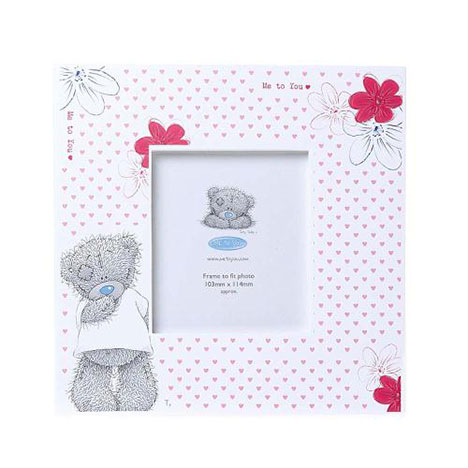 Flowers and Hearts Me to You Bear Photo Frame  £9.99
