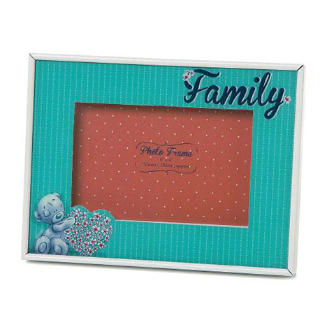 Family Me to You Bear Floral Sketchbook Photo Frame  £10.00