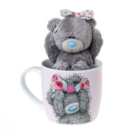 Tatty Teddy With Bow Mug And Plush Me to You Bear Gift Set  £14.00