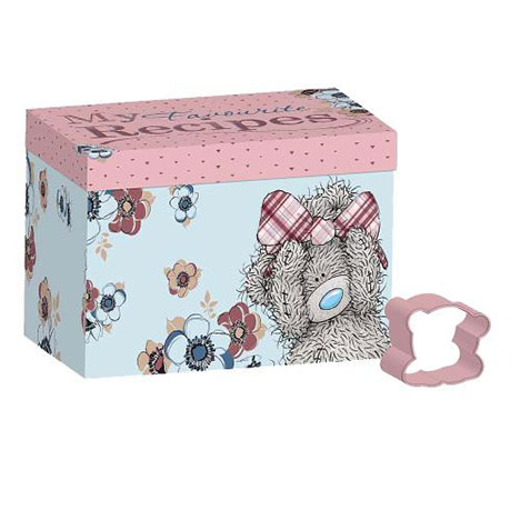 Me to You Bear Recipe Box and Cookie Cutter  £10.00