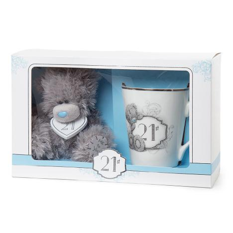 21st Birthday Mug & Plush Gift Set  £19.00