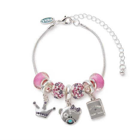 Princess Beaded Me to You Bear Bracelet   £14.99
