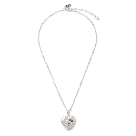 Heart Locket Me to You Bear Necklace   £12.99