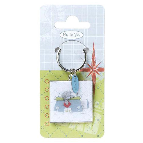 No 1 Dad Me to You Bear Keyring  £4.99