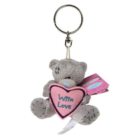 "3"" Me to You Bear With Love Heart Keyring   £4.99"