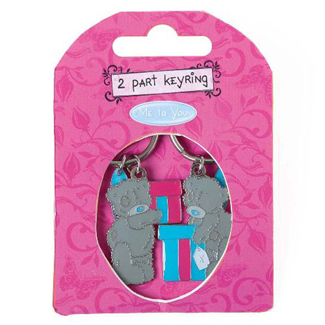 Me to You Bear 2 Part Presents Keyring   £4.50