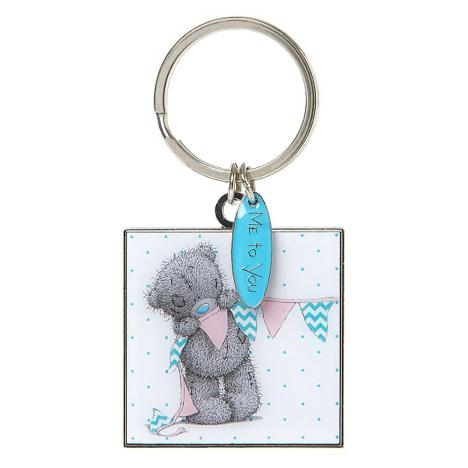 Me to You Bear with Bunting Square Enamel Keyring  £4.00