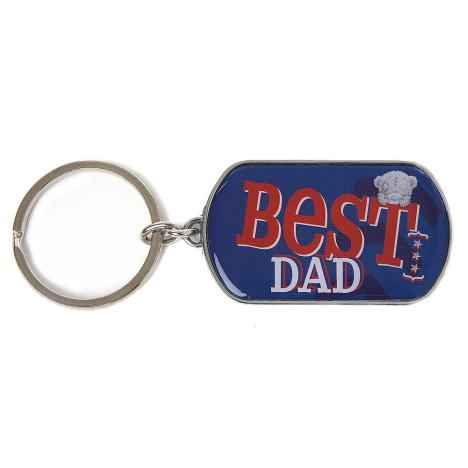Best Dad Me to You Bear Dog Tag Metal Keyring  £4.00