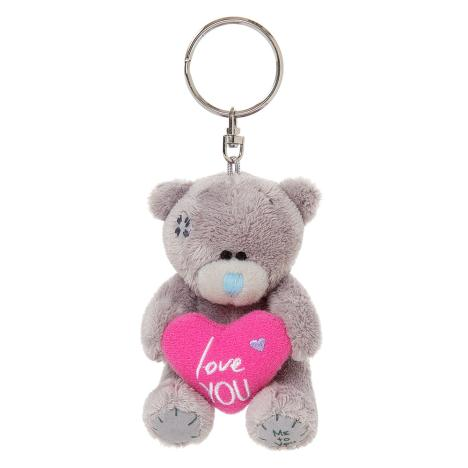 "3"" Love You Padded Heart Me to You Bear Plush Keyring  £4.99"
