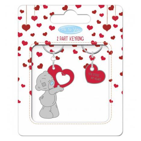 You Stole My Heart 2 Part Me to You Bear Key Ring  £5.99