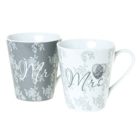 Mr & Mrs Me to You Bear Wedding Mugs  £10.00