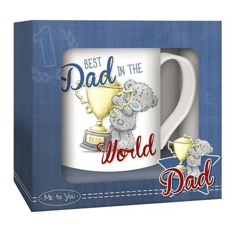 Best Dad In The World Me to You Bear Boxed Mug   £5.99