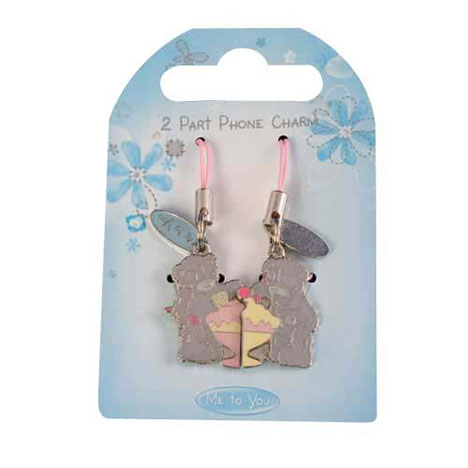 Me to You Bear 2 Part Ice Cream Mobile Phone Charm   £3.99