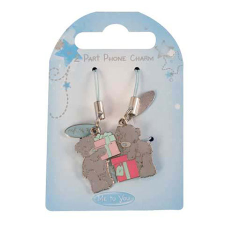 Me to You Bear Present 2 Part Mobile Phone Charm   £3.99