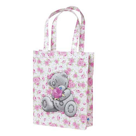 Floral Me to You Bear Tote Bag   £8.99