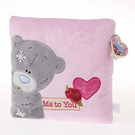 Floral Me to You Bear Cushion  £9.99