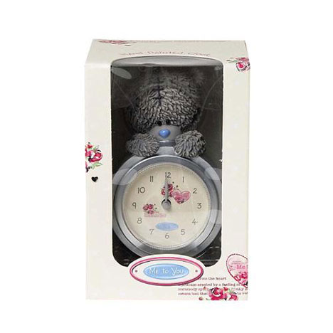 Me to You Bear Hand Painted Resin Clock   £14.99