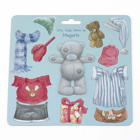 Me to You Bear Dress Up Magnets  £4.99