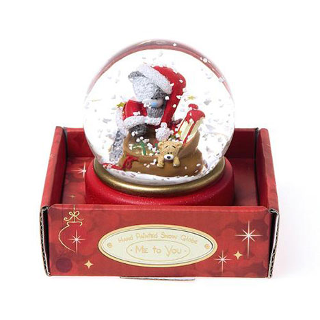 65mm Me to You Bear Christmas Santa Snow Globe  £9.99