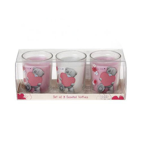 Me to You Bear Scented Votive Candles Set of 3  £9.99