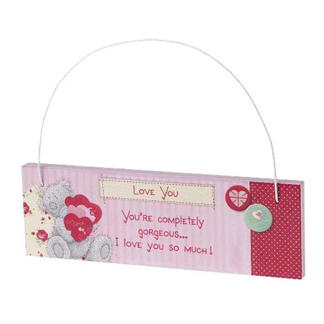 Love You Tatty Teddy Me to You Bear Plaque  £2.99