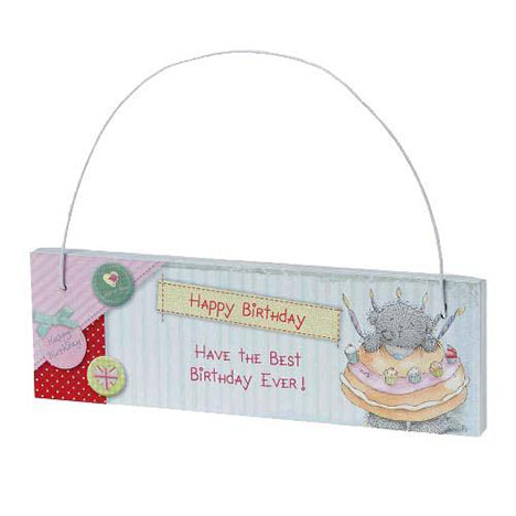 Happy Birthday Tatty Teddy Me to You Bear Plaque  £2.99