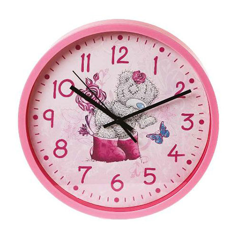 Me to You Pink Wall Clock  £14.99