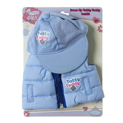 Tatty Teddy Me to You Blue Gillet and Cap  £9.99