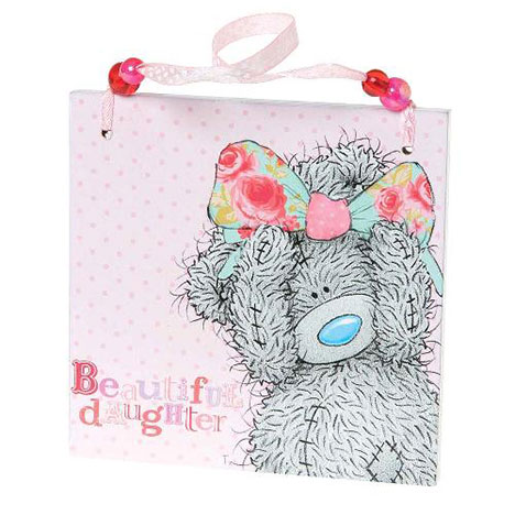 Beautiful Daughter Me to You Bear Plaque  £3.50