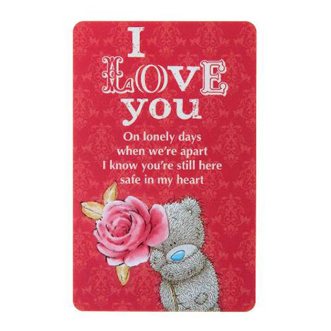 I Love You Me to You Bear Friendship Card   £1.25