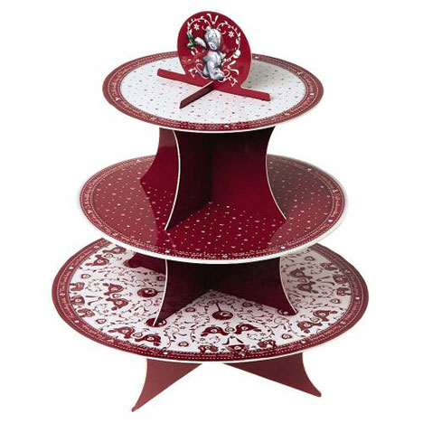Flat Pack Me to You Bear Christmas 3 tier Cake Stand  £8.00