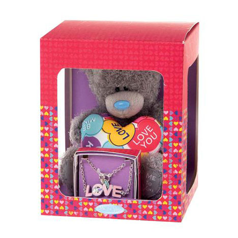 Love Me to You Bear Plush and Bracelet Gift Set  £20.00