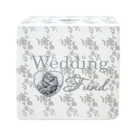 Square Me to You Bear Wedding Fund Money Box   £8.00