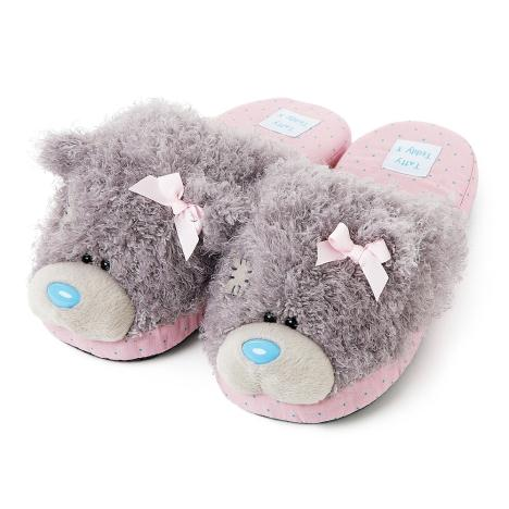Me to You Bear Pink Bow Slippers Size 5/6  £14.99