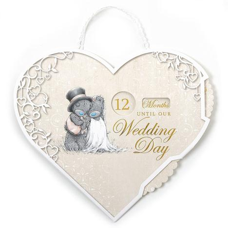 Me to You Bear Wedding Countdown Plaque  £3.50