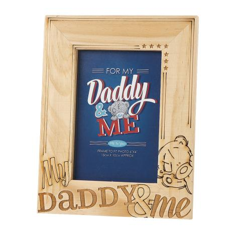 My Daddy & Me Wooden Me to You Bear Photo Frame  £8.00