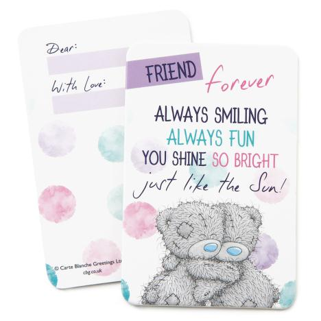 Friends Forever Me to You Bear Message Card  £0.99