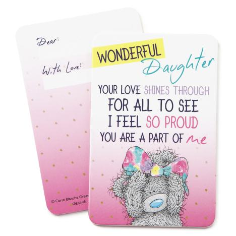 Wonderful Daughter Me to You Bear Message Card  £0.99