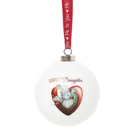 Perfect Daughter Me to You Bear Christmas Bauble  £4.99
